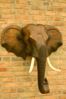 Elephant sculpture 1 by steppelandstock