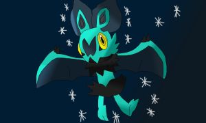 A Shiny Noibat by fossil-fighter