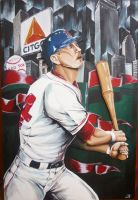 Jason Bay- Boston Red Sox by jlonnett
