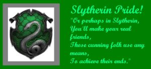 Slytherin Pride by Bronniii