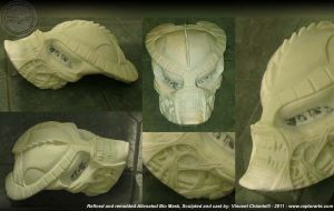 Alienated Predator Mask by RaptorArts