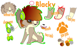Blacky's Ref by pompiu