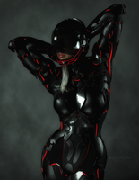 Gynoid 0x45 by TweezeTyne