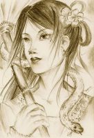 Madame White snake-Captivated by Purplace-Oxtail