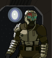 Dead Space: Military Suit by ZergRex