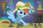 Daring Do Strikes! by Killryde