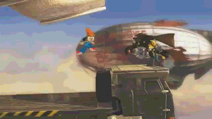 Ratchet and Clank Kirby attack - PASBR GIF by BloodyViruz