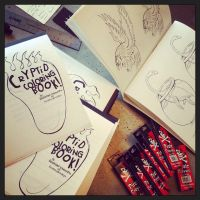 Cryptid Coloring Book by piratesofbrooklyn