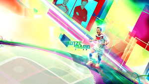 Mario Goetze Wallpaper by Piotr-Designs
