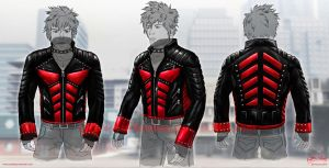 Anti Hero Leather Jacket Design by priteeboy