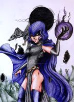 Raven's hostility  by Austin-Barnitz