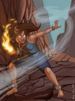 Korra Avatar State by Soup-Fairy