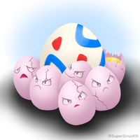 Daily Art - 029 - Egg-cellent buddies by SuperSiriusXIII