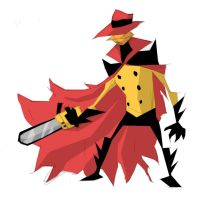 darkwing designs-negaduck by notebookboy
