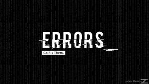 Errors wallpaper | Inspired By Watchdogs :) by JacouDesgins