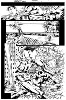 Nicola Scott sample page by JoeWeems5