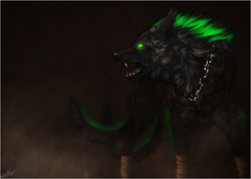 AT .: In The Dark :. by WhiteSpiritWolf