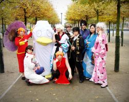 Oct Expo 08: Gintama Group by NekoFlameAlchemist