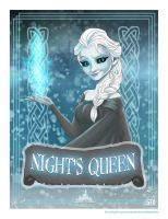 Night's Queen FLAT PRINT by soonergriff