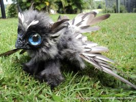 Griffin Pup - Handmade OOAK Poseable Artdoll- SOLD by SonsationalCreations