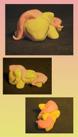 Sleeping Fluttershy by DawnMistPony