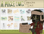 CHARACTERS FOR SALE! Quad+Anthro! 16/37 OPEN by maze