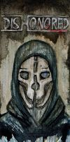 Bookmark - Dishonored by The-Purring-Teapot