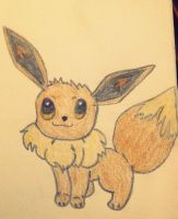 Eevee Pokemon Drawing by Megalomaniacaly