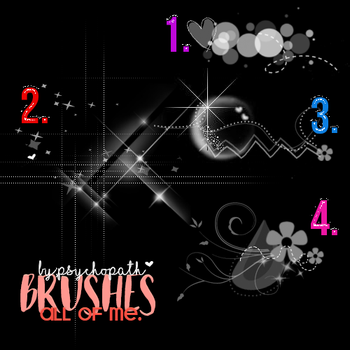 All of me brushes. by ByPsychopath