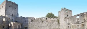 Porchester Castle by Abylone
