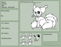 Free SnareCat Refrence Sheet Base by YukiDaSnowFox
