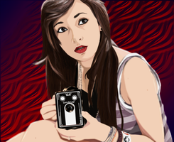 Girl with the Camera by Space-Drive-Overdose