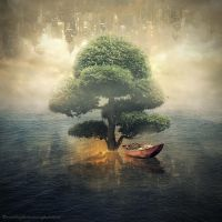 sea tree by evenliu