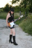 Guitar and Boots Stock - 1 by SafariSyd
