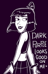 Dark Purple by Leneeh