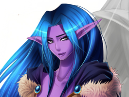 Night elf by Rebornephoenix by Nixxia