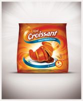 Mini Croissant Packaging by Viboo