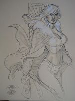 Emma Frost 003 San Diego 2010 by TerryDodson