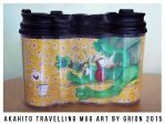 Akahito travelling mug by Grion