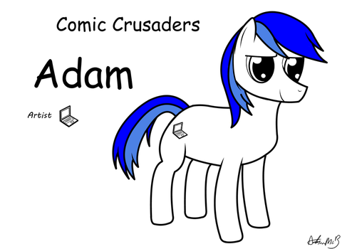 Comic Crusaders Adam by MXLR