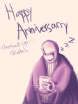 Happy Anniversary by Burntherabbitout