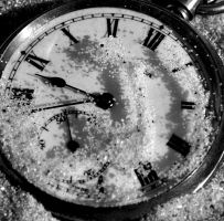 The Sands Of Time Bw by Forestina-Fotos