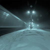 Midnight train by Alshain4