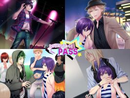 Backstage Pass CGs by sake-bento