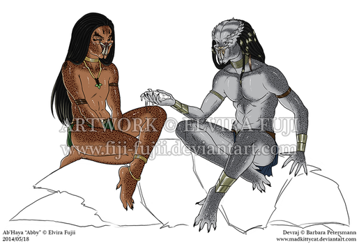 Young Bloods: Ab'Haya and Devraj - Forever WIP by Fiji-Fujii