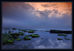 The Blue Sunset. by israelfi