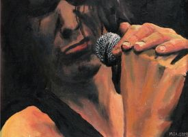 Ville on canvas by ihni