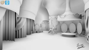 [WIP] Carousel Boutique Interior (Main Room) by discopears