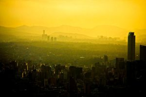 Mexico city, 6:30am by abbad0n