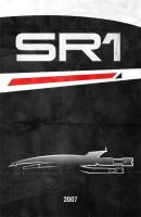 Movie Car Posters - SSV Normandy SR-1 by Boomerjinks